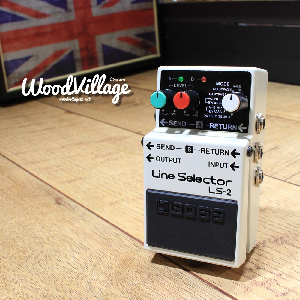 【入荷情報】BOSS LS-2 Line Selector