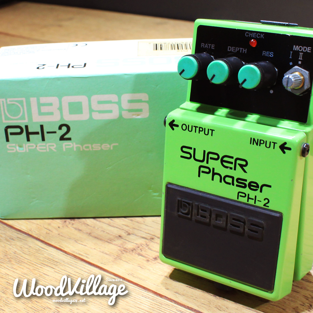 【入荷情報】BOSS – PH-2 SUPER Phaser