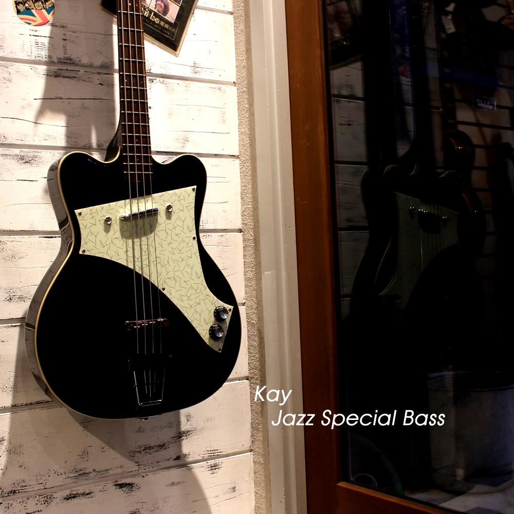 【入荷情報】ポール・マッカートニーだよぉ~ん【Kay Jazz Special Bass】