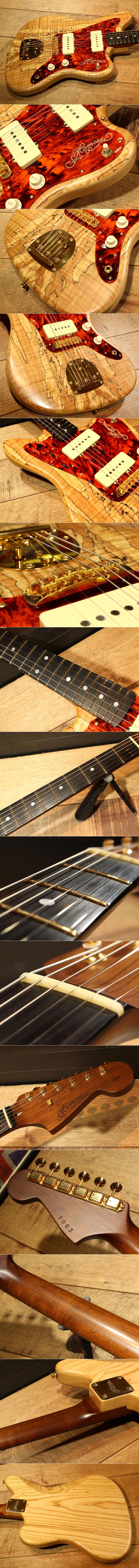 Momose Custom Craft Guitars - MJM-SM/GF MAT C-NA◆2016年楽器フェアモデル(限定3本)◆Jazzmaster◆Spalted Maple&Ash1P◆美品 15703001